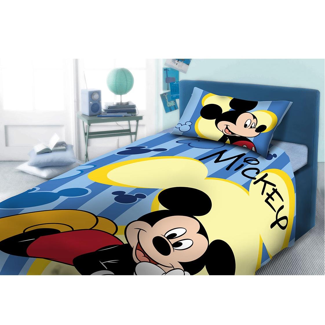 96d9a3c6850 Σετ Σεντόνια Παιδικά 2 τμχ. Mickey 962 Disney Dim 165x245 - ElegantHome